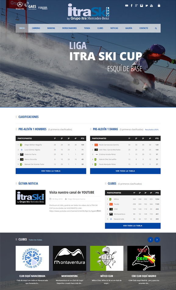 web itra ski cup