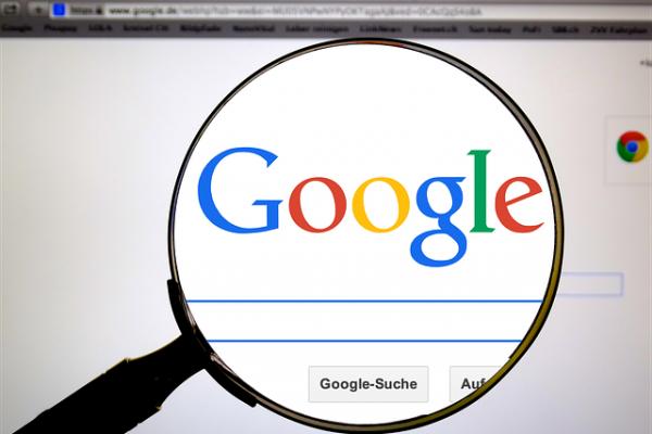 motor de búsqueda Google