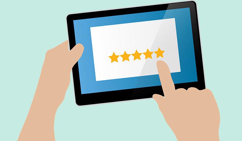 invita a tus clientes a dejar opiniones, reseñas y testimonios de tu negocio